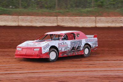 Brent Hodges won the  second Street Stock race this year.