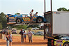 the Pursley's hauled all the way from Clover, South Carolina