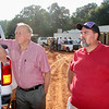 CHARLIE GUNN ran Carolina Speedway for many years. RANDY HOUSER is the track photographer