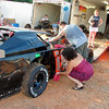 "The ad said, ""own a race team and clean up!"".<br /> <br /> #18 BRETT GASTETTLER...got second place"