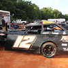 Greg Brown, from Concord, drives this #12 modified