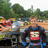 NICK HOFFMAN in his first modified race.