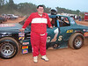 A J Cable in one of his last outings with this street stock car.