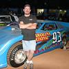 #93 Trey Baucom crate car