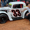 #33 legend car Zac Zearfoss