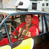 Robbie Lothan, from York, races street stock class