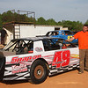 Flyin' Brian Austin and his #49 street stock car