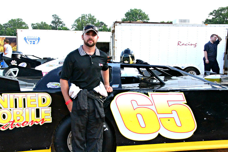 Brandon and the #65 late model.