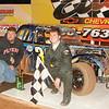 Josh Morrow wins the legend race