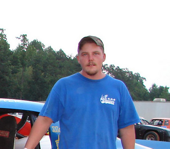 Rock Hill, South Carolina's Patrick O'Dell runs #26 in street stock class