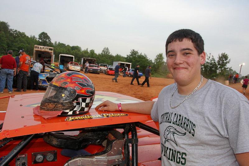 Jonathan Petrea cames from a long line of racers