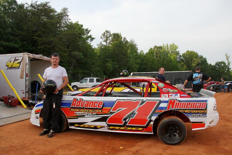 Nick Walker drives the Ninneman Motorsports car