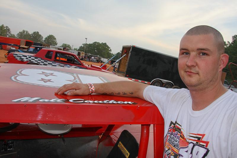 Matt Cauthen drives the #18