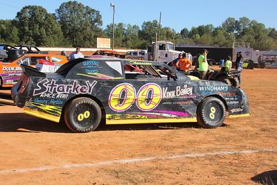 Jamie Thomasson's Knox Bailey car. Get well Knox we miss ya.