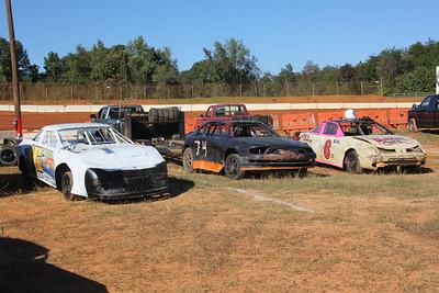 looks like a junkyard.....a fast junkyard.