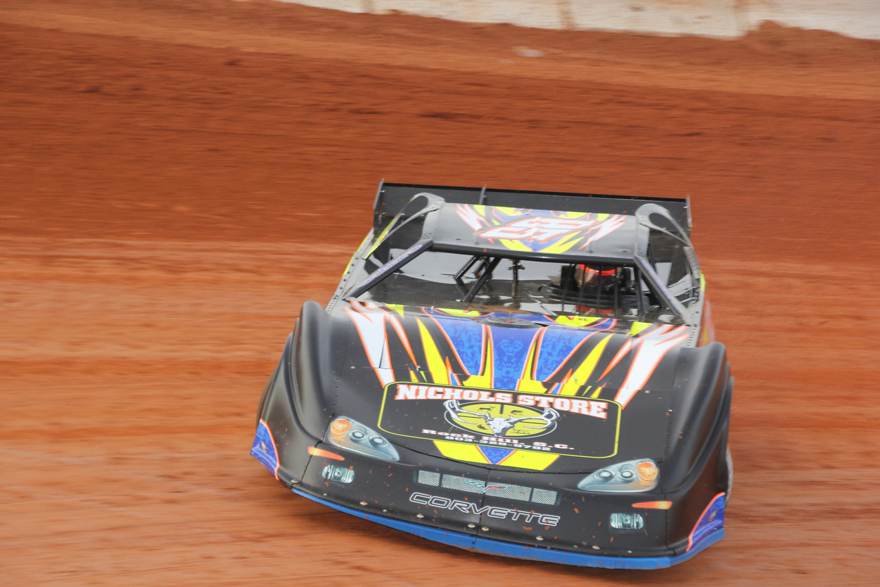 Matt Lawson in the #85 sponsored by Nichols Store in Rock Hill, SC