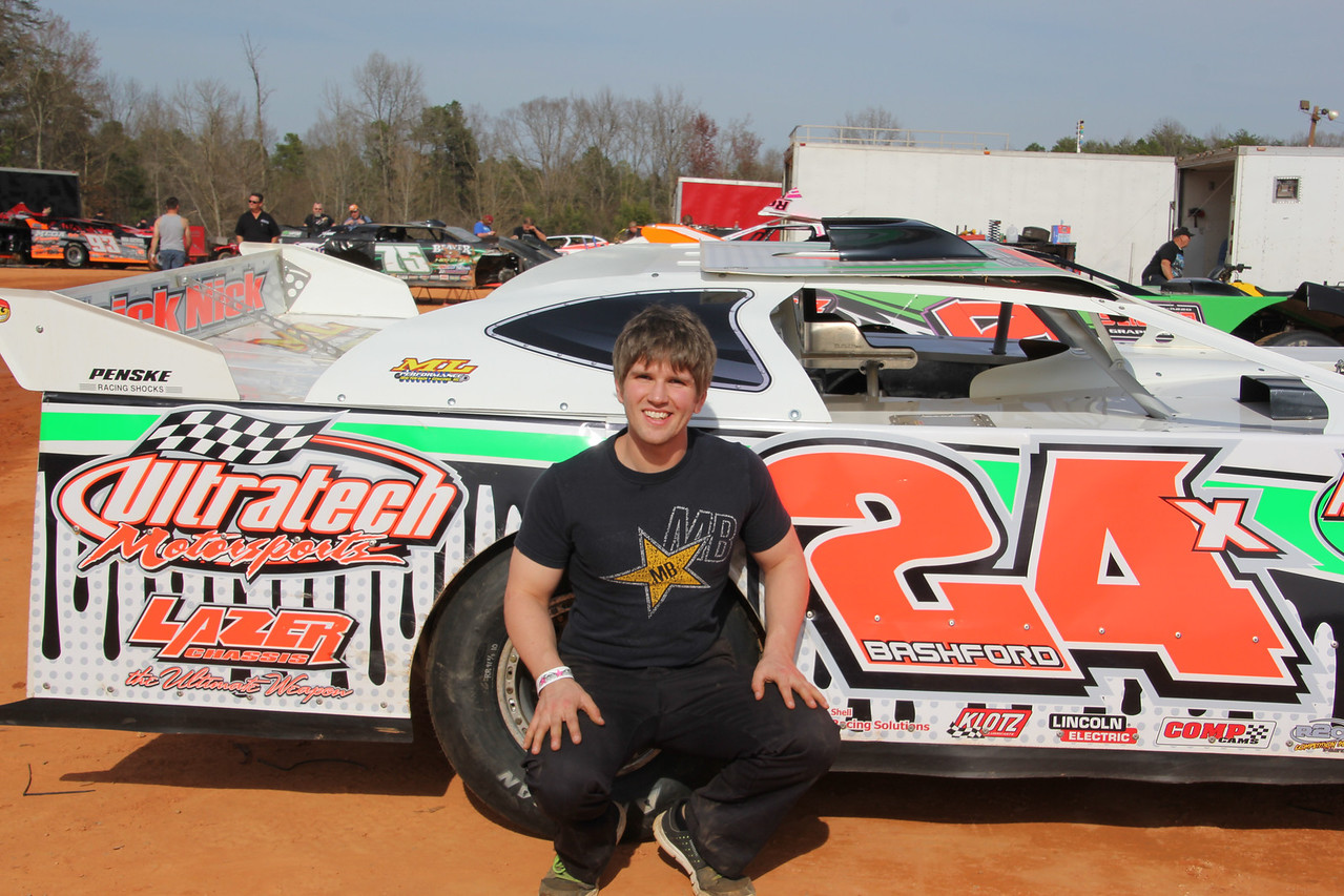 "Nick Bashford  is new to the ""taxi cabs"" he's been racing sprint cars."