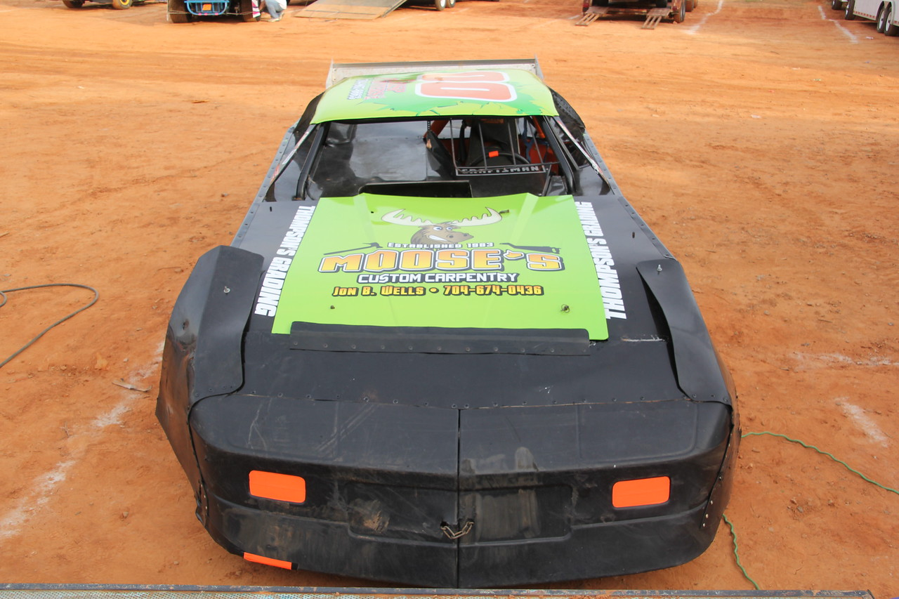 Moose's Custom Carpentry sponsors Dockery's ride
