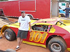 Kevin Slack with the #101 crate car