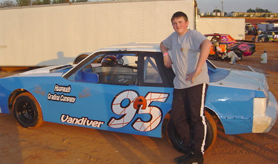 16 year old Adam Vandiver comes from a famous racing family