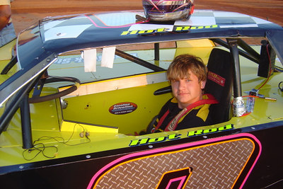 """#0 is """"HotRod"""" Nick Walker 16 years old from Forest City, NC"""