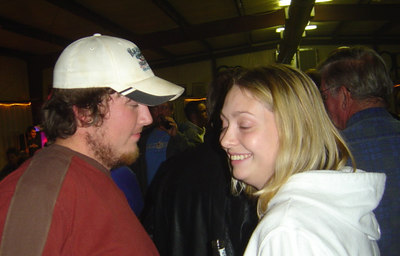 Andy Ashe and Gina Estep...doesn't anybody keep their eyes open?