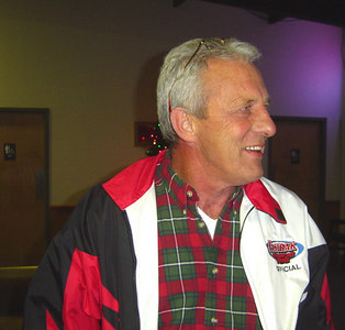 Terry Harris and his new FASTRAK jacket