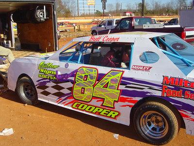 Brett Cooper's #84. Brett finished 4th in Super Stock 4