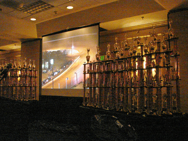 Lots of large trophies....