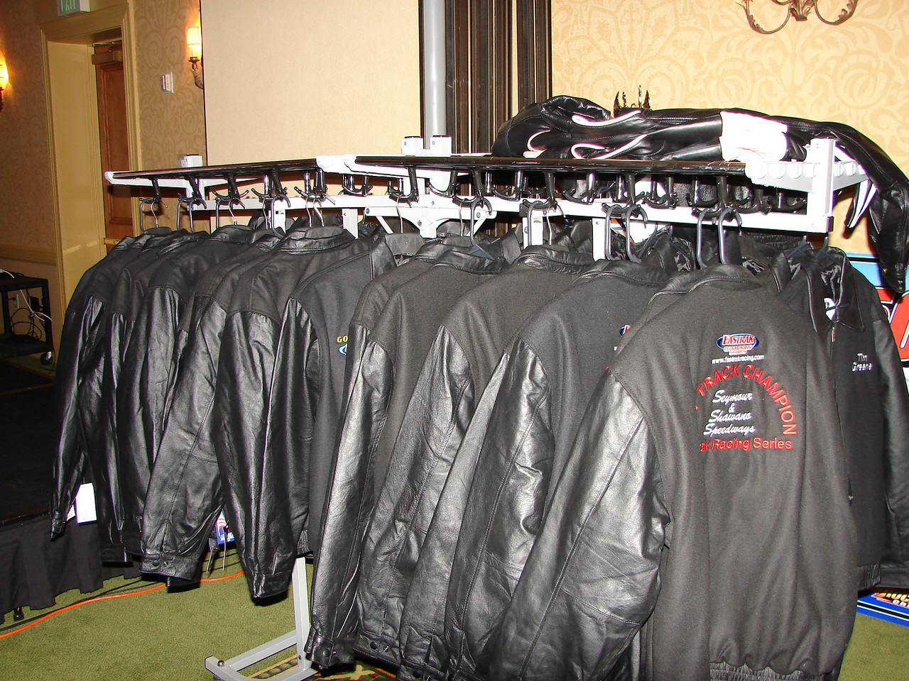 ...and jackets to be given out.