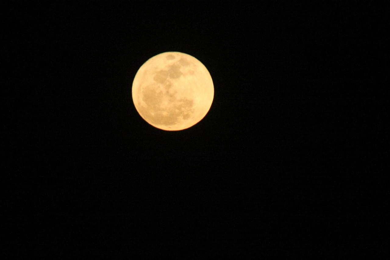 Oh No!   A full moon.