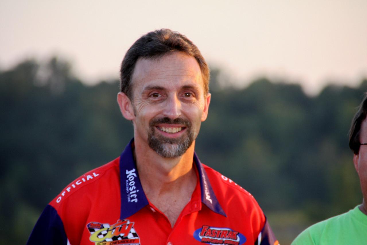 flagman (ex racer) Tony Adair