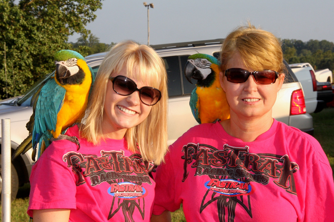 Two bird brains...and a couple of parrots