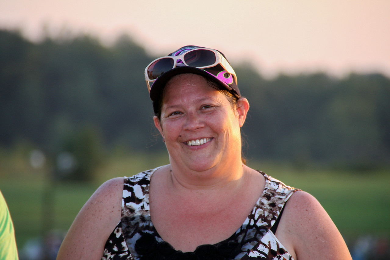 Cleveland County's hard working General Manager / Promoter, Tammi Mullis
