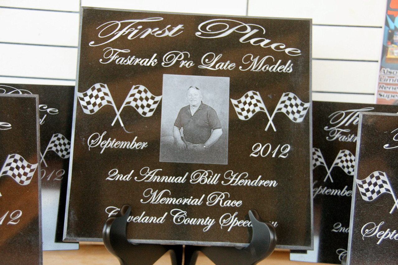 2nd Annual Bill Hendren Memorial race at Cleveland Cointy Speedway, Lawndale, NC