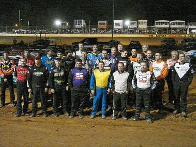 The feature event late model drivers.