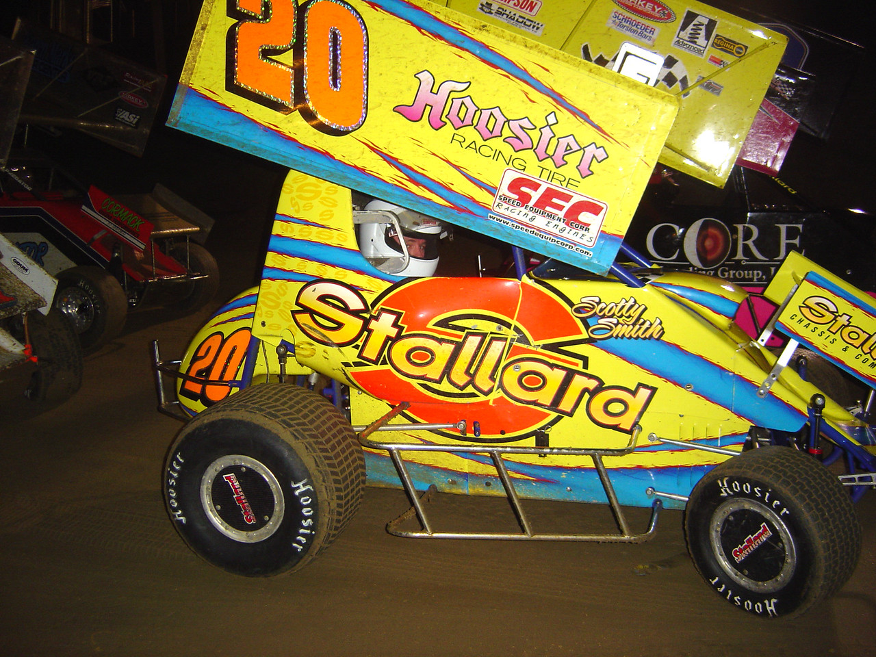 #20 mini sprint Scotty Smith from Middletown, Delaware