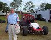 Rick Nichols with Butler race supply is always on the job