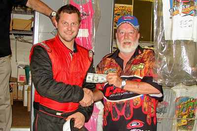 Justin Labonte gets the hard luck award at Travelers Rest