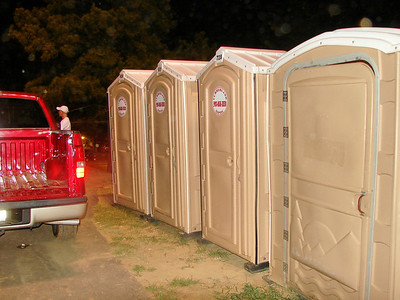 toilets in the grandstand area