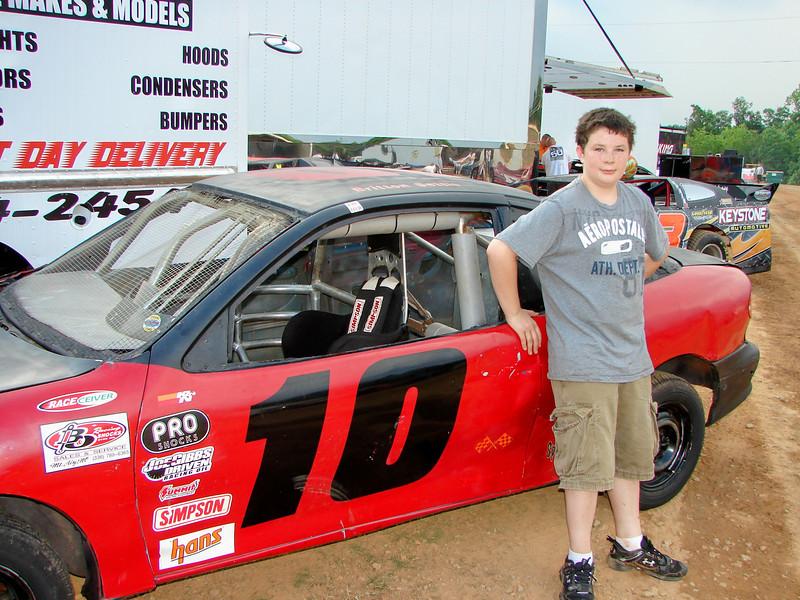 #10 Brian Settle won the U-car race