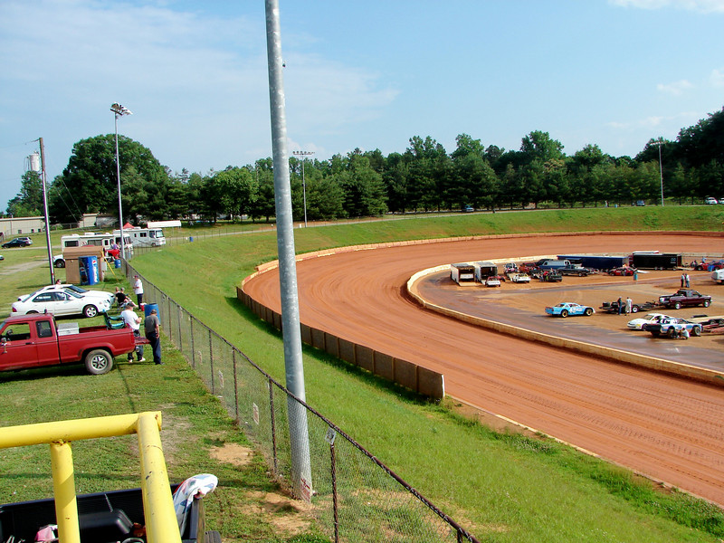 turn two from spotter stand