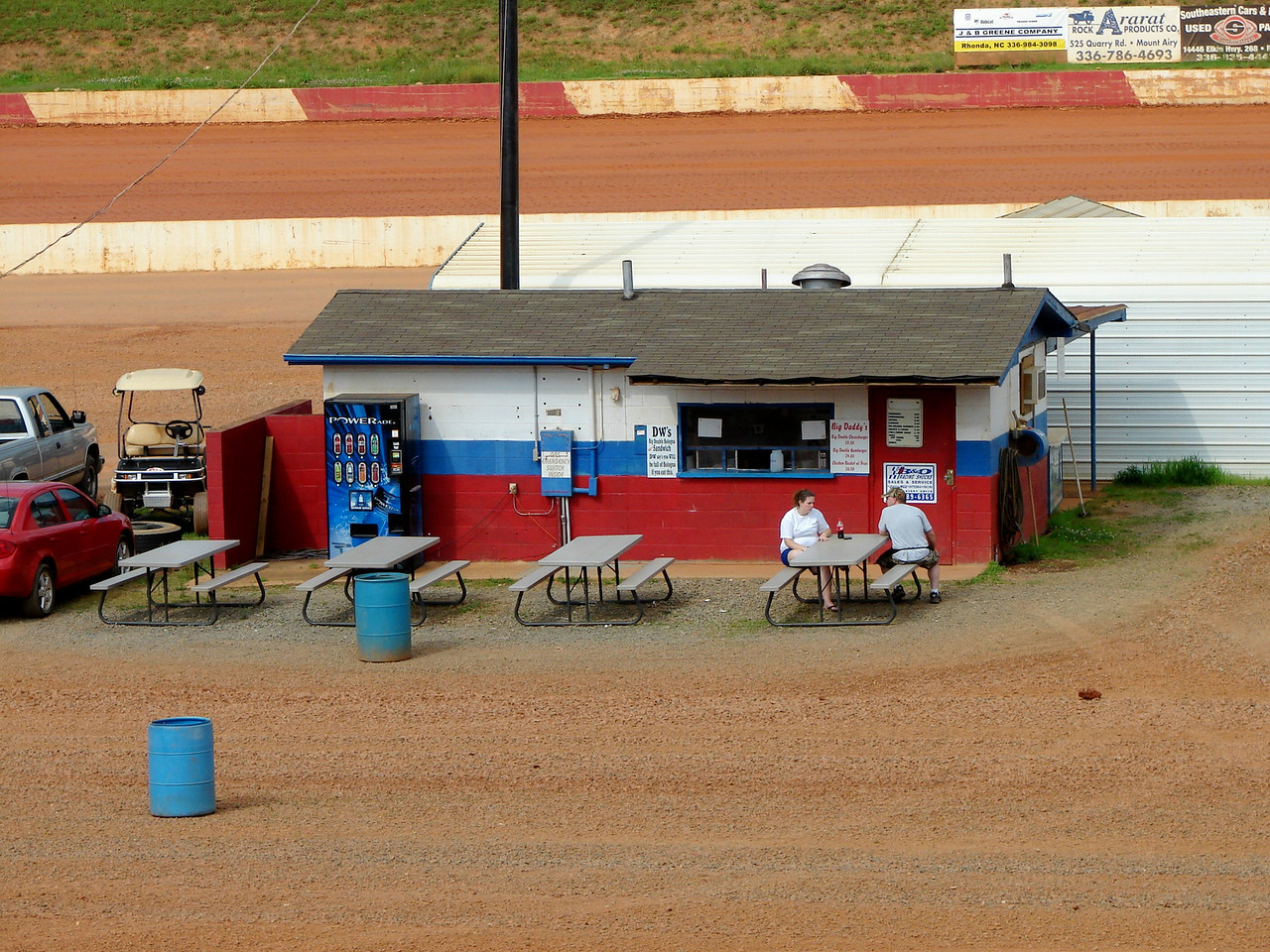 infield food stand