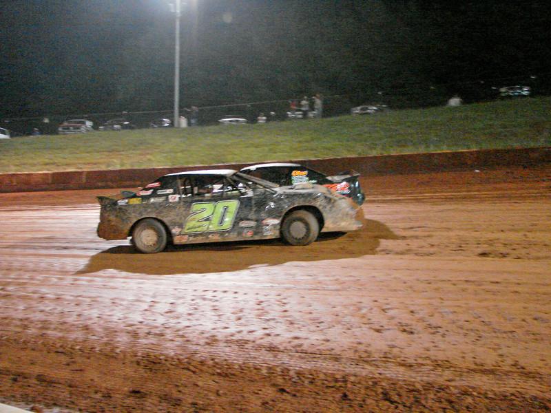 #20 Eric Daniels spins