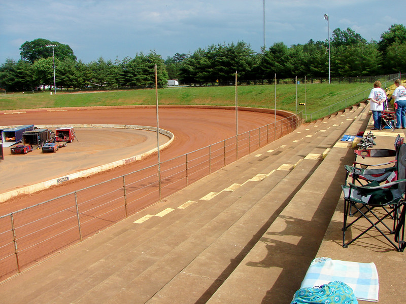 main stands, turn one