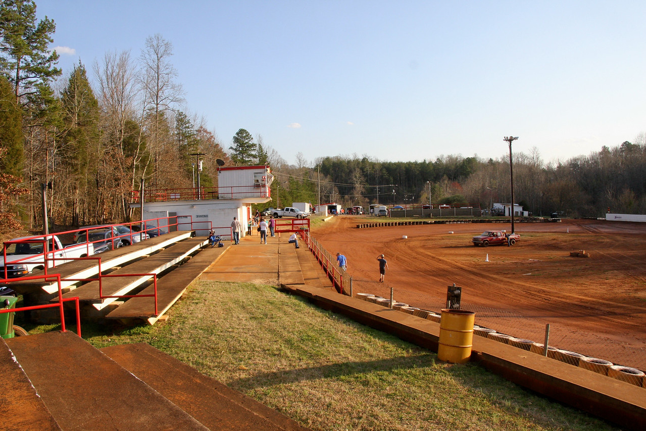 the Hoffman family has taken it over and turned it into a very neat racing facility
