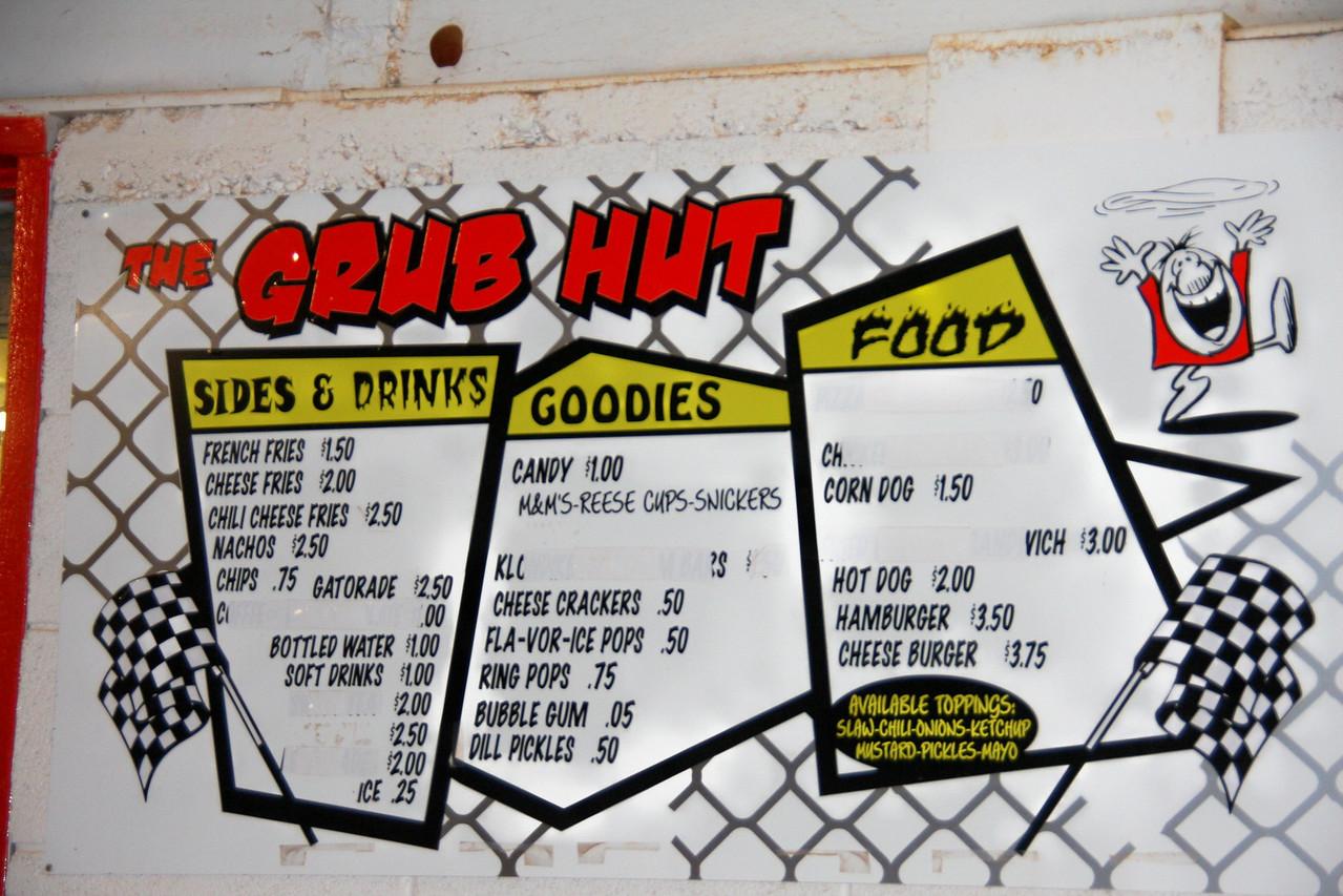 the Grub Hut food...the corn dogs are delicious