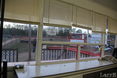 View from one of the permanent buildings area the facility.