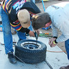 Bolting on the rim lock for a Florida TQ wheel