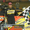 Randell Chupp finnaly got a win after two nights of second places